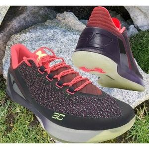 UNDER ARMOUR Curry 3 Men Basketball Red/Black